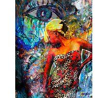 Eye On Woman Photographic Print