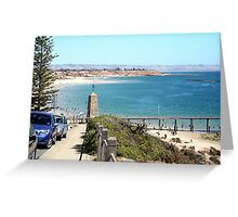 A place to cool-off. Greeting Card