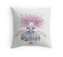 Cotton - The Cotton Pixie Throw Pillow
