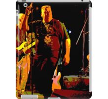 Rock Band on Stage. iPad Case/Skin
