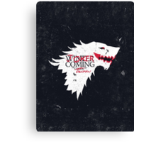Joker is Coming Canvas Print