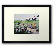 Flutterby Dreams Framed Print
