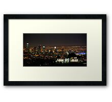 Griffith Park Observatory Los Angeles Framed Print