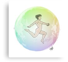 Leave your Bubble (Eastern Asian) Canvas Print