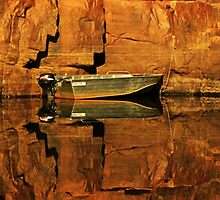 A Tinny and it's reflections by myraj