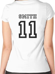 Smith 11 Jersey Women's Fitted Scoop T-Shirt