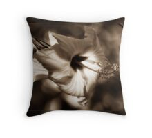 Diffused Flower Throw Pillow