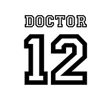 Doctor 12 Jersey Photographic Print