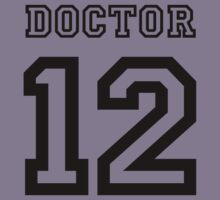 Doctor 12 Jersey Kids Clothes