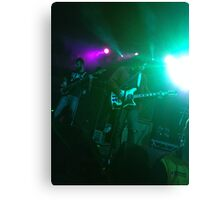 Frnkiero andthe Cellabration Live  Canvas Print