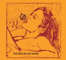 hot babe don't smoke by diavega