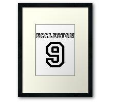 Eccleston 9 Jersey Framed Print