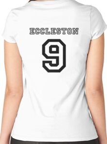 Eccleston 9 Jersey Women's Fitted Scoop T-Shirt