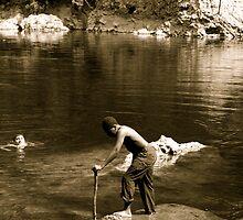 Huckleberry Finn by John Mckinney