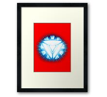 Iron Man - The Arc Reactor V 2 Framed Print
