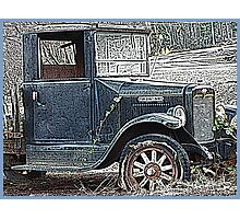 Old Forgotten Truck Photographic Print