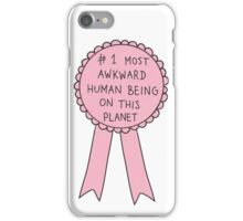 Most Awkward Human Being iPhone Case/Skin