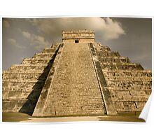 Chichen - Itza Cancun Poster