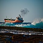 High seas cargo by Plonko