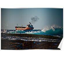 High seas cargo Poster