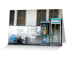 bangkok blues Greeting Card