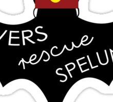 Cavers Rescue Spelunckers Sticker