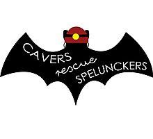 Cavers Rescue Spelunckers Photographic Print