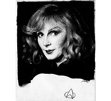 Beverly Crusher Photographic Print