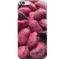 Homegrown runner bean seeds from the allotment iPhone Case/Skin