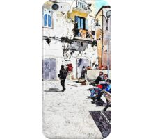 Agropoli: view square iPhone Case/Skin