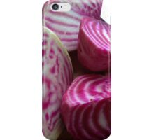 Homegrown beetroot from the allotment iPhone Case/Skin
