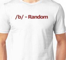 /b/ - Random 4chan Logo Unisex T-Shirt