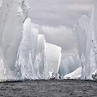 Ice canyon by Phemie