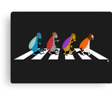 Beetles on Abbey Road ART Canvas Print