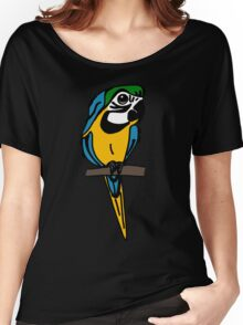 Macaw Women's Relaxed Fit T-Shirt