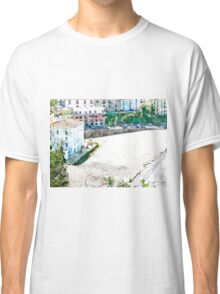 Agropoli: landscape with beach Classic T-Shirt