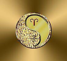 Aries & Rat Yang Metal by astrodesigner75