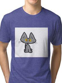 Tom The Gray Cat Tri-blend T-Shirt