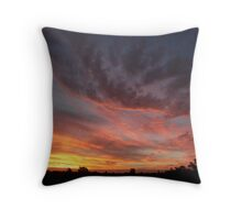 Ipswich Sunset Throw Pillow