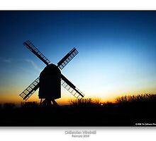 Chillenden Mill at Dawn by CadmannUK