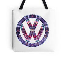 Volkswagen Logo Tie Dye Tote Bag