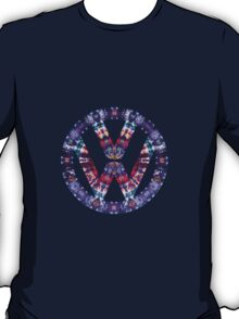Volkswagen Logo Tie Dye T-Shirt