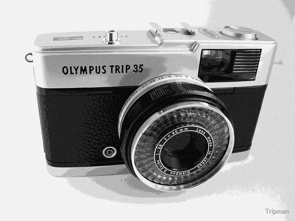 Olympus Trip 35 Classic Camera Early Model by Tripman
