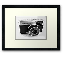 Olympus Trip 35 Classic Camera Early Model Framed Print