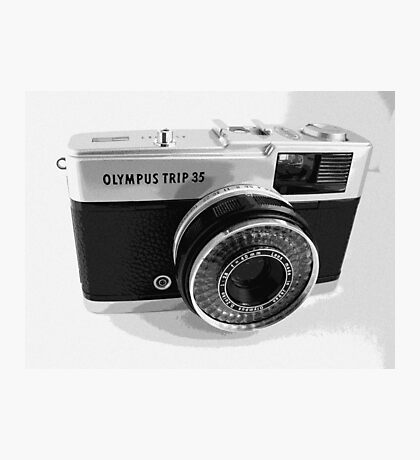 Olympus Trip 35 Classic Camera Early Model Photographic Print