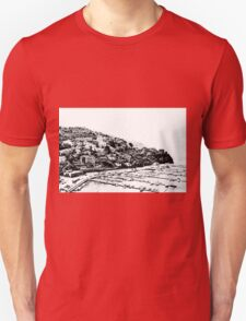 Agropoli: landscape with port Unisex T-Shirt