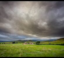 Xhosa Huts by Hougaard Malan