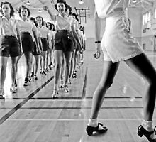 Tap Dancing Class, 1942 by historyphoto