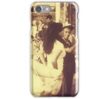 Dancing outdoors in Mexico city iPhone Case/Skin