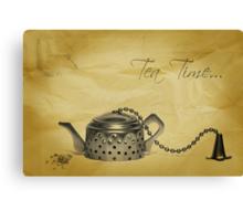 Tea Time... Canvas Print